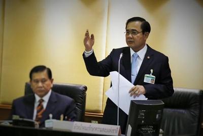 พล.อ. ประยุทธ์ จันทร์โอชา นายกรัฐมนตรีคนที่ 29